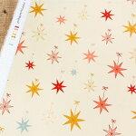 星のオーナメント生地【10cm単位の切売り】ARTGALLERYFABRICS/LetitGlow/USAコットン(AGF-CMA-25132)