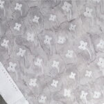 forgetmenotプリント生地【10cm単位の切売り】KAYOAOYAMA/デザイナーズファブリック/デジタルプリント/(kayoaoyama-forgetmenot)