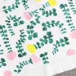 gardenプリント生地【10cm単位の切売り】KAYOAOYAMA/デザイナーズファブリック/デジタルプリント/(kayoaoyama-garden)