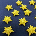 スターボタン【輸入ボタン】【足つきボタン】ChristmasCollection(B1021-Star)