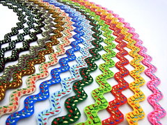 選べるカラーは全部で13色♪柄入り(刺繍ステッチ)の山道テープです!山道テープ柄入り山道テ...