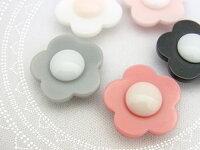 フランス製ボタンお花モチーフボタン18mm1個単位での販売です。