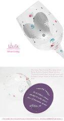 【正規品】Lolita(ロリータ)SILVERLININGWINEGLASSシルバーライニングワイングラスかわいいセレブ愛用ブランドお洒落新品ロリータヤンシー母の日誕生日お祝いギフトプレゼント贈り物