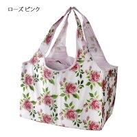 プレゼントエコバッグレジかごバッグ花柄薔薇姫系可愛いおしゃれ