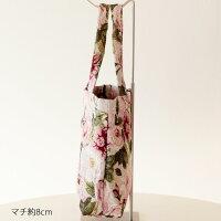 トートバッグレガートローズゴブランロイヤルアーデン/メール便可薔薇雑貨姫系雑貨ピンクかわいいおしゃれ