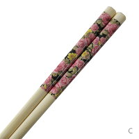 お箸薔薇柄白い箸薔薇雑貨ゆうパケット可かわいいおしゃれ