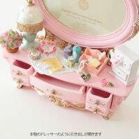 マリーローズドレッサーフォトフレーム【ピンク】写真立て薔薇雑貨姫系雑貨かわいい