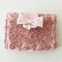 母の日ギフトカードケースミニローズカードファイルケースゆうパケット可薔薇雑貨姫系おしゃれかわいいカードホルダーばら雑貨