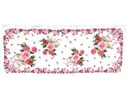 フェイスタオルローズヴィーナス薔薇雑貨花柄パープルかわいい