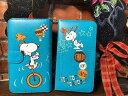 NEW 全機種対応 キャラクタースマホケース 手帳型 スヌーピー ターコイズブルー 新入荷