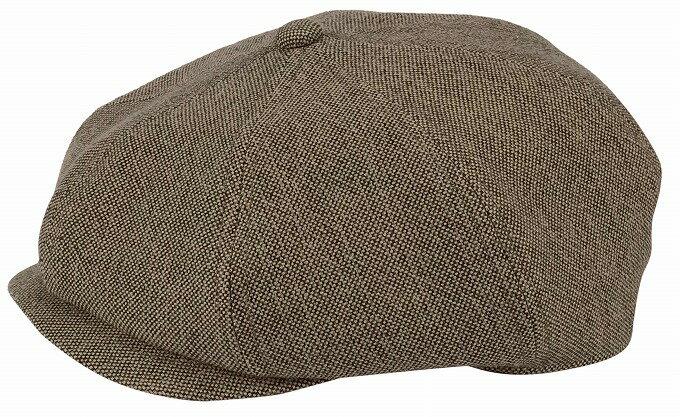 帽子・大きいサイズOKタテヨコMIXコットン466ハンチング