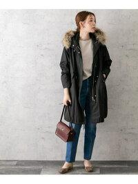 [Rakuten Fashion]モッズコート ROSSO アーバンリサーチロッソ コート/ジャケット モッズコート ベージュ ブラック【送料無料】
