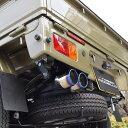 シルクブレイズ プリウス ZVW30 オールステンレス マフラーカッター オーバルタイプ