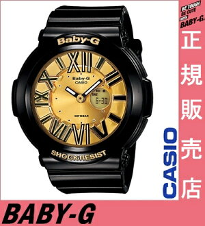 ★ reviews in Quo card 3千 Yen-★ Casio baby-g black BGA-160-1BJF casio baby-g ladies Casio watches ladies casio watch baby-g gold neon Dial Watch neon dial series