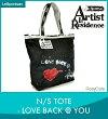 [USA正規品]LeSportsac/レスポートサックN/STOTE[N/Sトート]LOVEBACK@YOU[ラブバック@ユー]ArtistInResidenceアーティストインレジデンスA.I.R.9761-r011トートバッグアーティストA.I.R.激安[プレゼントお祝い誕生日女性男性]