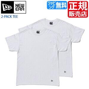 ニューエラ Tシャツ 正規販売店 11229177 NEW ERA 2-PACK TEE ホワイト new era Tシャツ 無地 Tシャツ メンズ 半袖 Tシャツ レディース 半袖 Tシャツ ブランド Tシャツ 白 Tシャツ