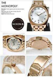 ニクソン腕時計レビューで次回8000円割引★送料無料[正規3年保証]A3251044ニクソンモノポリーニクソン腕時計レディース腕時計NIXON時計NIXONTHEMONOPOLYROSEGOLDニクソン腕時計メンズ腕時計防水nixon腕時計10P26Mar16