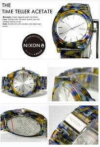 ニクソン腕時計レビューで次回2000円割引★送料無料[正規3年保証]A3271116ニクソンタイムテラーアセテートニクソン腕時計レディース腕時計NIXON時計NIXONTIMETELLERACETATEWATERCOLORニクソン腕時計メンズ腕時計防水nixon腕時計10P26Mar16