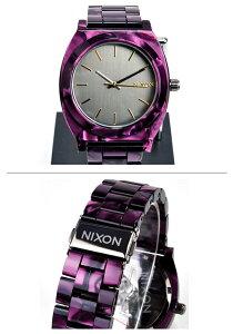 ニクソン腕時計レビューで次回2000円割引★送料無料[正規3年保証]A3271345ニクソンタイムテラーアセテートニクソン腕時計レディース腕時計NIXON時計NIXONTIMETELLERACETATEGUNMETAL/VELVETニクソン腕時計メンズnixon腕時計10P26Mar16