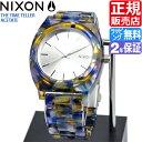 ニクソン 腕時計 送料無料 [正規3年保証] A3271116 ニクソン タイムテラー アセテート レディース NIXON 時計 NIXON TIME TELLER ACETATE WATERCOLOR メンズ 防水 nixon