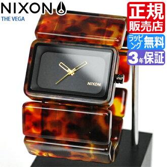 NIXON WATCH NA726646-00 VEGA TORTOISE