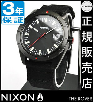 NIXON WATCH NA355001-00 ROVER ALL BLACK