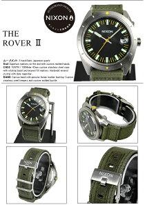 ニクソン腕時計レビューで次回3000円割引★送料無料[正規3年保証]A3551089ニクソンローバーニクソン腕時計メンズ腕時計NIXON時計NIXONROVERSURPLUS/BLACKニクソン腕時計メンズnixon腕時計防水ニクソン腕時計レディース10P26Mar16