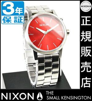 NIXON WATCH NA3611260-00 SMALL KENSINGTON DARK RED