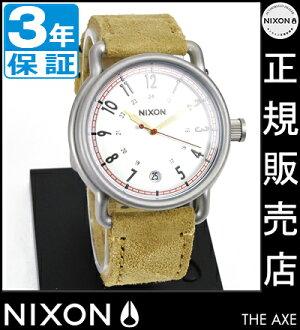 NIXON WATCH NA3221261-00 AXE DESERT SUEDE