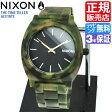 ニクソン 腕時計 レビューで10%OFFクーポン(次回)★ 送料無料 [正規3年保証] NA3271428 ニクソン タイムテラー アセテート レディース 腕時計 NIXON 時計 NIXON TIME TELLER ACETATE MATTE BLACK/CAMO ニクソン 腕時計 メンズ nixon 腕時計