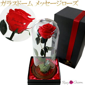 ガラスドーム薔薇