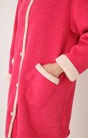 【送料無料】【Narue】新作ナルエーsleepwithnarueガウンフリースボア手袋てぶくろ型ポケット無地【ロング丈】ルームウェア部屋着ものすごい軽くて暖かいです!首もとあったか防寒対策【smtb-td】【RCP】【10P05Nov16】【大人かわいい】