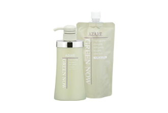 Azare products green now 350 ml (refill) and AZARE (azare) natural nature of shampoos and non-additive [at more than 20,000 yen (excluding tax)], [Rakuten BOX receipt item] [05P01Oct16]
