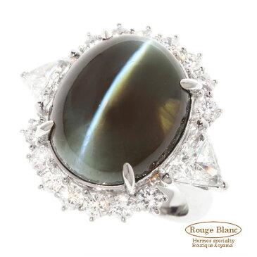 アレキサンドライトキャッツアイ×ダイヤモンドリング 指輪 32,40 D2,46 【新品】Alexand catseye Diamond ring Refurbished 【NEW】