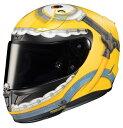 予約受付中!!!【2021年6月発売予定】 RPHA11 ミニオンズ オットー フルフェイスヘルメット 数量限定モデル RSタイチ HJC HJH210・・・