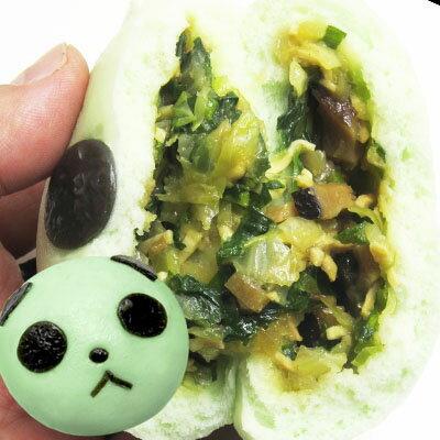老維新『中華街の野菜パンダまん』