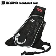 スマホポーチ ラウンドスノーボードギア ショルダー スノボー スノーボード スポーツ ランニング アクセサリー おしゃれ フィット ブランド ブラック ペットボトル ホルダー