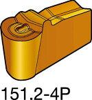 [N151.2300304P:H13A]サンドビック T−Max Q−カット 突切り・溝入れチップ H13A[10個入]【サンドビック(株)】(N151.2-300-30-4P:H13A)