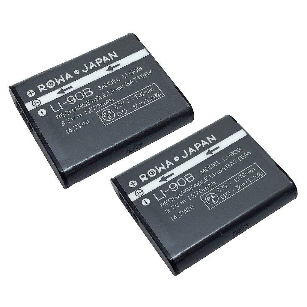 デジタルカメラ用アクセサリー, バッテリーパック 2OLYMPUS LI-90B Li90B