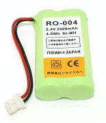 シャープ ロワジャパン コードレス バッテリー