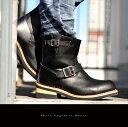 【送料無料】スチールトゥショートエンジニアブーツ◆エンジニア ブーツ ショート 本革 メンズ アメカジ レザー ショートブーツ ワークブーツ ミリタリー 靴 ブーツ レディース メンズ 防寒 02P03Dec16