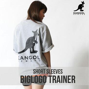 KANGOL REWARD ビッグロゴ半袖トレーナー◆KANGOL KANGOL REWARD カンゴール トレーナー BIGプリント 半袖 プルオーバー メンズ レディース ユニセックス