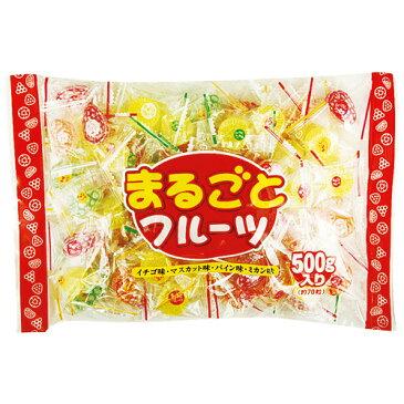 日進製菓 まるごとフルーツキャンディ 500g