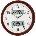 楽天【代金引換不可】電波掛時計(ネムリーナカレンダー)   新築祝い 結婚祝い リビング ブランド おしゃれ 壁かけ時計 壁掛時計 壁掛け時計 デジタル時計