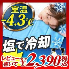 【エントリーで最大P22倍】【レビュー書いて割引あり】【冷却マット 塩 90×90cm ジェルシート...