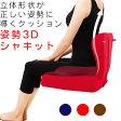 【送料無料】【クッション姿勢イス椅子背もたれ背当てクッション背あてクッションチェアクッション】『座るだけで立体形状が正しい姿勢に導くクッション姿勢3Dシャキット』背あて(B456)