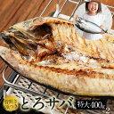 塩サバ背開き頭付き塩サバ開き [2枚 / 800g] サバ さば 鯖 海産物 海鮮 食べ物焼...