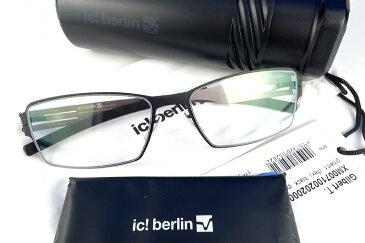 【ポイント10倍】ic!berlin/アイシーベルリン Gilbert T. Black/Pearl福山雅治さん着用モデル【送料無料】【基本レンズ無料】人気モデル再入荷!