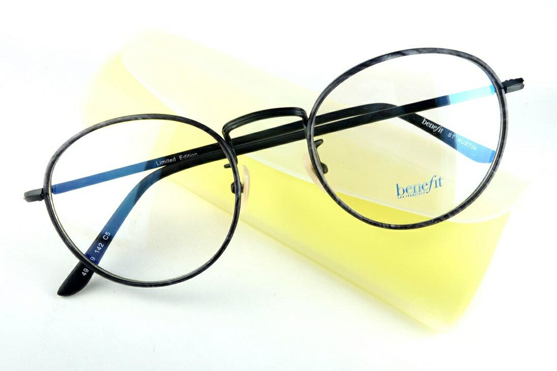 BENEFIT/ベネフィットAUSTIN C5眼鏡フレーム