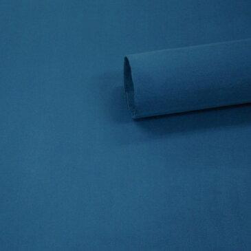 【ノリ付き♪高級スエード調生地シート 単色 1-9エメラルドブルー 幅約145cm×2m】カッティングシート アルカンターラ調 内装 車内 張替え 壁紙 シール 送料無料 RoyalQueen